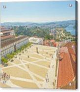 Coimbra University Aerial Acrylic Print