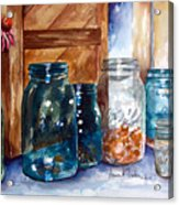 Coin Catchers Acrylic Print