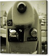 Coin Operated Telescope Acrylic Print
