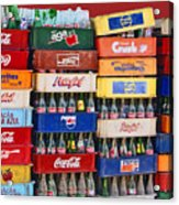 Coke Bottles Mexican Style Acrylic Print