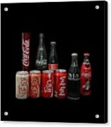 Coke From Around The World Acrylic Print