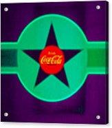 Coke N Lime Acrylic Print