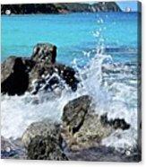 Coki Beach Seascape Acrylic Print