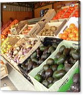 Colchagua Valley Outdoor Market Acrylic Print