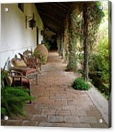Colchagua Valley Porch Acrylic Print