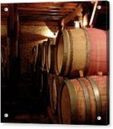 Colchagua Valley Wine Barrels II Acrylic Print