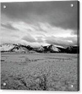 Cold And Foreboding Acrylic Print