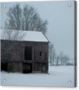Cold Barn Acrylic Print