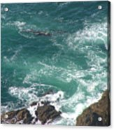 Cold California Waters Acrylic Print