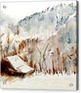 Cold Cove Acrylic Print