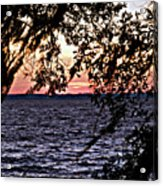 Cold Florida Sunset Acrylic Print