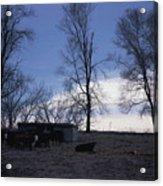 Cold Iowa Evening Acrylic Print