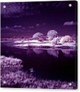 Cold Landscape Acrylic Print