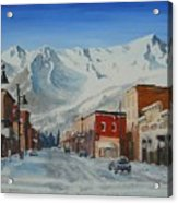 Cold Montain Acrylic Print