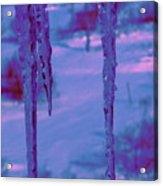 Cold Night Falling Acrylic Print