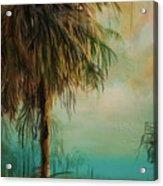 Cold Palm Marsh Acrylic Print