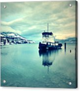 Cold Reflections Acrylic Print