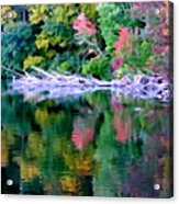 Cold Spring Harbor Reflections Acrylic Print