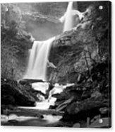 Cold Spring Morning At Kaaterskill Falls II Acrylic Print