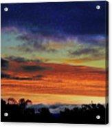 Cold Sunrise Acrylic Print