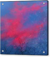 Cold Sunset Acrylic Print