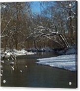 Cold Water Acrylic Print