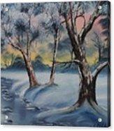 Cold Winter Acrylic Print