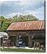 Coldwater Vintage Carriage House Acrylic Print