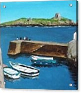 Coliemore Harbour, Dalkey Acrylic Print