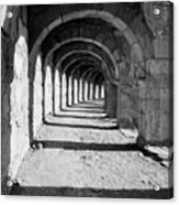 Coliseum Corridor Acrylic Print