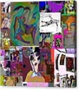Collage 9 Acrylic Print