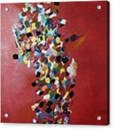 Collage Of Color Acrylic Print