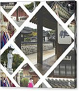 Collage Of Seoul Acrylic Print