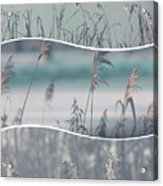 Collage Of Winter Time In Poland. Acrylic Print