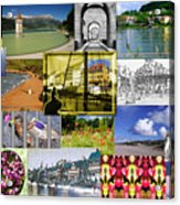 Collage Photography 1999-2009 By Sascha Meyer - Without Border Acrylic Print