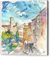 Colle D Val D Elsa In Italy 02 Acrylic Print