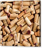 Collection Of Corks Acrylic Print