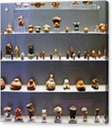 Collection Of Figurines Acrylic Print