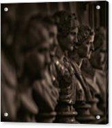 Collection Of Roman Sculptures #2 Acrylic Print