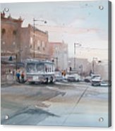 College Avenue - Appleton Acrylic Print