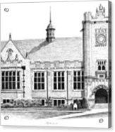 College House Acrylic Print