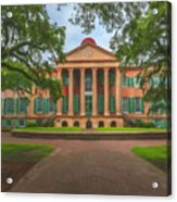 College Of Charleston Main Academic Building Acrylic Print