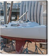 College Of Charleston Sailing Acrylic Print