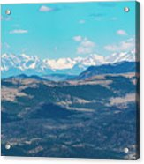 Collegiate Peaks From Little Grouse Mountain Acrylic Print