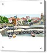 Collioure,    Cote De Vermeille Acrylic Print