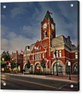 Collingwood Townhall Acrylic Print