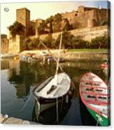 Collioure Castle Acrylic Print