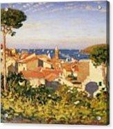 Collioure Acrylic Print by James Dickson Innes