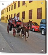 Colombia Carriage Acrylic Print