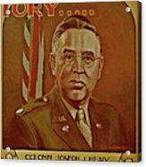 Colonel Joseph J. Healy Acrylic Print by Dean Gleisberg